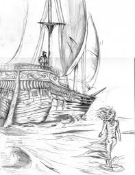 ship pencil drawing pirate ship pencil drawing michelle drawing