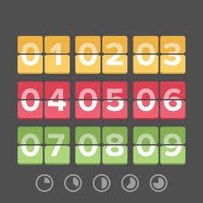 countdown calendar templates countdown calendar template 7