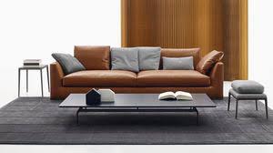 canape cuir design contemporain canapé en cuir tous les fabricants de l architecture et du design