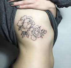 image result for floral ribs tattoos and steunk