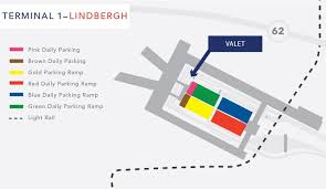msp airport terminal map valet parking msp airport
