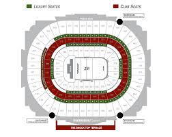 Orange County Convention Center Floor Plan by Seating Map Honda Center