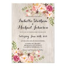 wedding invitations floral rustic floral wedding invitation watercolor bg 2 card zazzle co uk
