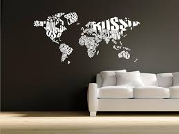 world map wall decal with countries nursery ideas art world world map wall decal with countries