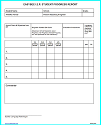 student progress report template daily progress report template
