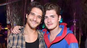 tyler posey u0026 gregg sulkin party at playboy mansion cassie