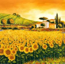 sunflowers for sale richard leblanc valley of sunflowers painting anysize 50
