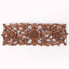 balinese architectural corners tropical flowers wood