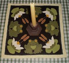 Wool Felt Rugs 120 Best Spring Wool Applique Images On Pinterest Penny Rugs