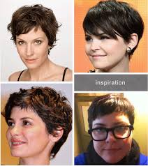 the best haircuts for overweight women i like the bottom right the best pixie cuts pinterest