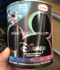 checking out the new disney glidden paint at walmart