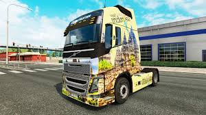 volvo lorry indonesia skin for volvo truck for euro truck simulator 2