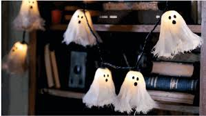 halloween ghost string lights ghost string lights for halloween