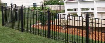 central illinois fencing railings ornamental steel fences