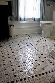 black and white hexagon tile floor this hexagon tile floor abode
