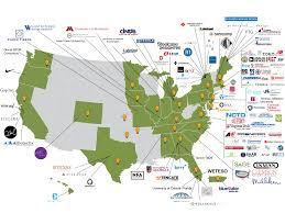 Map Of Virginia Tech by Membership U2013 Affoa
