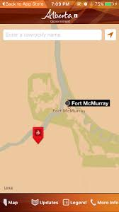 Fort Mcmurray Alberta Canada Map by Maps Oilsands Operations Not Currently In Immediate Path Of Fort