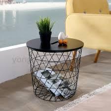 Storage Side Table Modern Minimalism Storage Baskets Living Room Furniture Storage