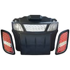 e z go rxv led light bar kit led golf cart light bar kit red