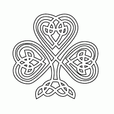free coloring pages of shamrocks coloring home