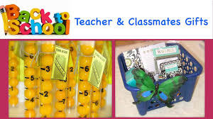 back to teacher u0026 classmates gifts gift ideas diy