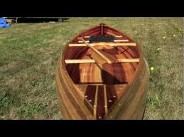 making my first cedar strip canoe time lapse youtube