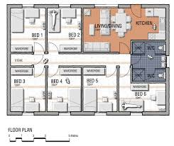 6 bedroom floor plans floor plans flinders