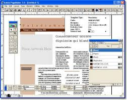 in design software adobe pagemaker