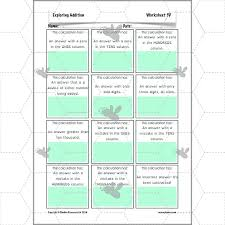 exploring addition math addition worksheets complete series