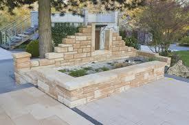 Mediterrane Huser Steinmauer Garten Mediterran Möbelideen