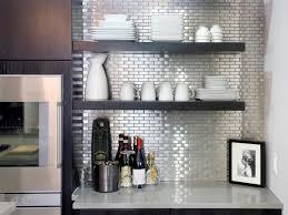 kitchen remarkable stainless steel tile kitchen backsplash no glue