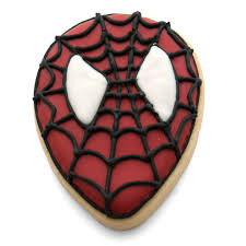 spiderman face cookie cutter set cuttercraft