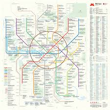 Washington Dc Train Map by New Moscow Metro Map For Vestibules 3068x3068 Mapporn