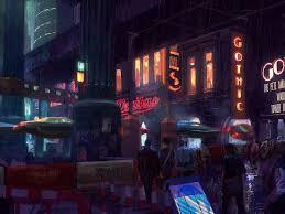 88 best cyberpunk sci fi project scenery insp images on pinterest
