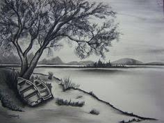 cross the bridge mountain stream sketch art pinterest