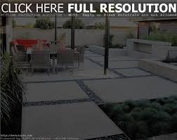 Concrete Backyard Ideas Concrete Backyard Design Home Outdoor Decoration