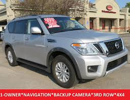 2017 nissan armada cloth interior 2017 used nissan armada sv awd 18
