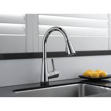 electronic kitchen faucet faucet com 64070lf ss in brilliance stainless by brizo