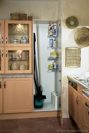 Broom Closet Cabinet Pictures Of Kitchens Modern Light Wood Kitchen Cabinets