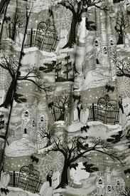 Halloween Print Fabric by Cyanide Kiss Cyanide Kiss Halloween
