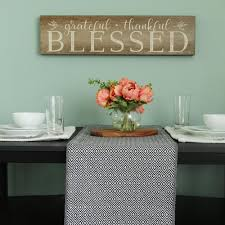 home decor wall signs stratton home decor grateful thankful blessed decorative sign