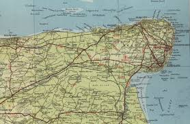 Map Of Kent England by Margate Map