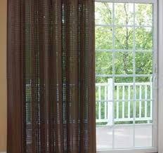 Sliding Door Curtain Ideas Curtains For Patio Doors Brilliant Slider Door Inside 9