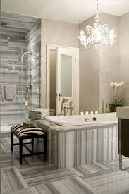 bathroom fabulous glass stall bathroom design with marble subway