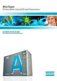 aq 30 55 aq 37 55 vsd atlas copco compressors usa pdf