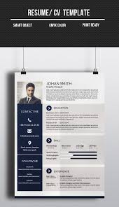 corporate resume format corporate one page cv resume template promotion cv