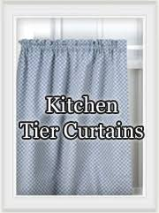 kitchen curtains cafe tiers valances swag curtain pair