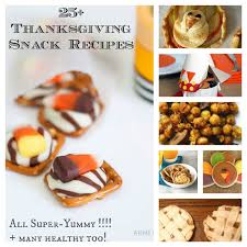 25 sweet savory thanksgiving snacks treats for