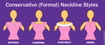 neckline styles how to make good choices