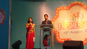 sree vidyanikethan on welcome speech by seniors and